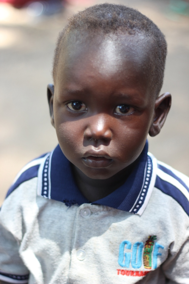 Nicholas - the most handsome man in South Sudan